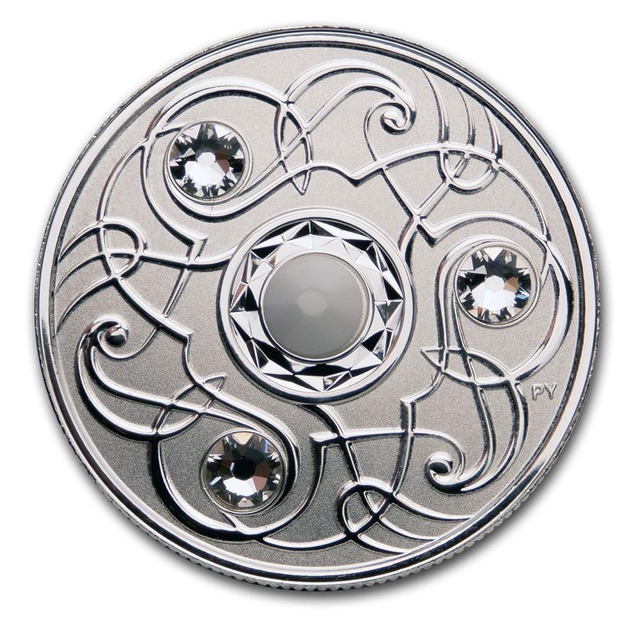 2020 Canada 1/4 oz Silver $5 Birthstones: June