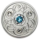 2020 Canada 1/4 oz Silver $5 Birthstones: March