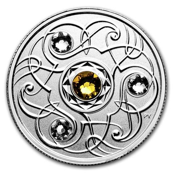 2020 Canada 1/4 oz Silver $5 Birthstones: November