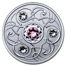 2020 Canada 1/4 oz Silver $5 Birthstones: October