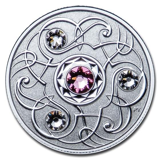 2020 Canada 1/4 oz Silver $5 Birthstones: October