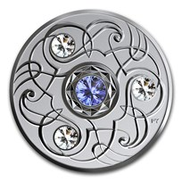2020 Canada 1/4 oz Silver $5 Birthstones: September