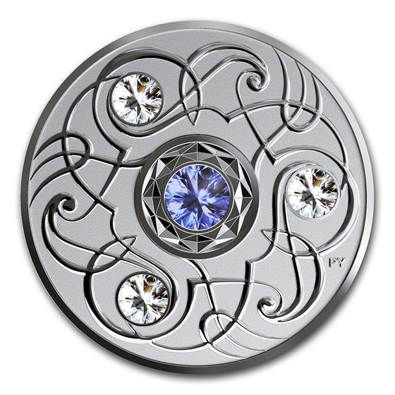 2020 Canada 1/4 oz Silver $5 Birthstones: September
