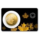 2020 Canada 1 oz Gold Bobcat .99999 BU (Assay Card)