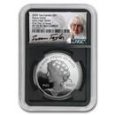 2020 Canada 1 oz Silver $1 Peace Dollar UHR PF-70 NGC Ultra Cameo