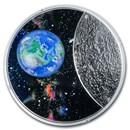 2020 Canada 1 oz Silver $20 Mother Earth: Our Home