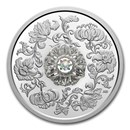 2020 Canada 1 oz Silver $20 Sparkle of the Heart Dancing Diamond