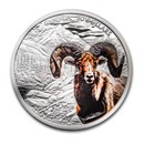 2020 Canada 2 oz Silver $30 Imposing Icons Bighorn Sheep
