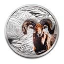 2020 Canada 2 oz Silver $30 Imposing Icons Bighorn Sheep