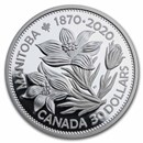 2020 Canada 2 oz Silver $30 Manitoba 150: United in Celebration