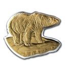 2020 Canada 3 oz Silver $50 Real Shapes: The Polar Bear