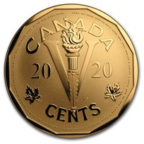2020 Canada 5 Cent Bronze Canada Home Front: The Victory Nickel