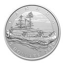 2020 Canada $5 Silver Moments to Hold: 350th Anniv of HBC