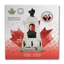 2020 Canada $5 Silver Moments to Hold: Remembrance Day