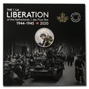 2020 Canada Ag $10 Liberation of the Netherlands: Canadian Army
