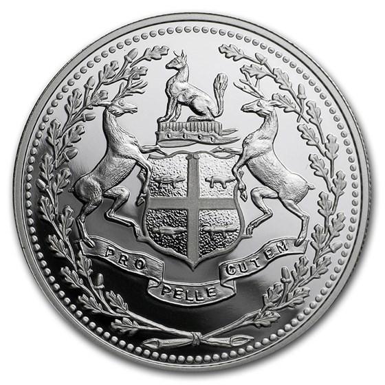 2020 Canada Silver $10 350th Anniv of Hudson's Bay Company