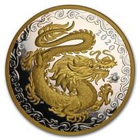 2020 Canada Silver $125 Lucky Dragon