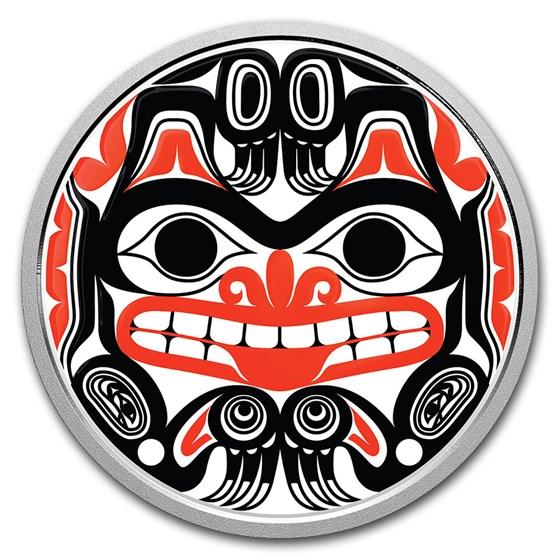 2020 Canada Silver $20 Bill Reid: Xhuwaji Haida Grizzly Bear