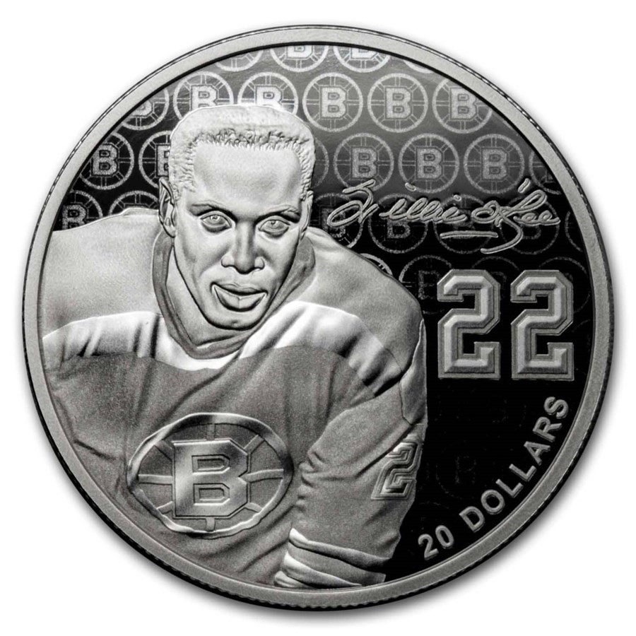 2020 Canada Silver $20 Black History Month: Willie O'Ree