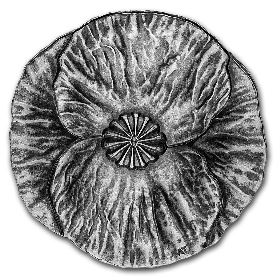 2020 Canada Silver $20 Remembrance Day Proof