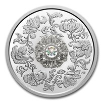 2020 Canada Silver $20 Sparkle of the Heart Dancing Diamond