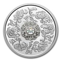 2020 Canada Silver $20 Sparkle of the Heart Dancing Diamond