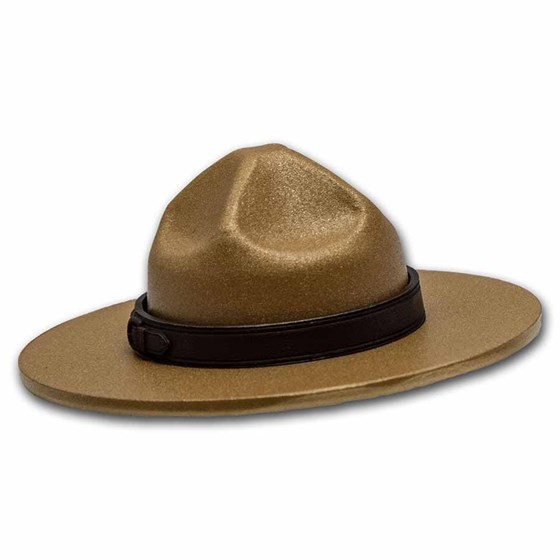 2020 Canada Silver $25 Classic Mountie Hat