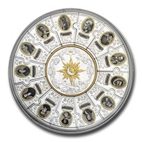2020 Canada Silver Puzzle Coin Set - The Four Winds: Pathfinders