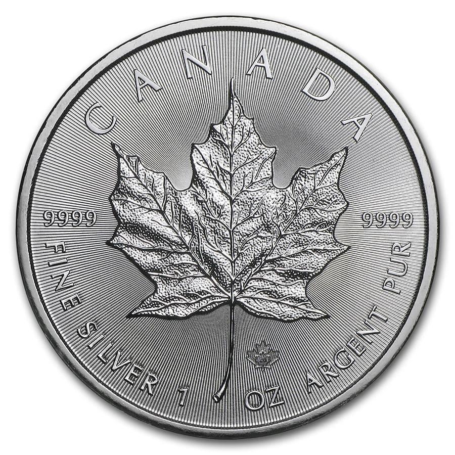 CANADA MAPLE LEAF SILVER 10$ 2014