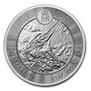2020 Cayman Islands 1 oz Silver Marlin BU