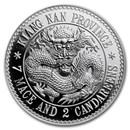 2020 China 1 kilo Silver Kiangnan Dragon Dollar Restrike (PU)