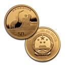 2020 China 2-Coin Gold/Silver Forbidden City 600th Anniv Set