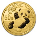 2020 China 3 gram Gold Panda BU (Sealed)