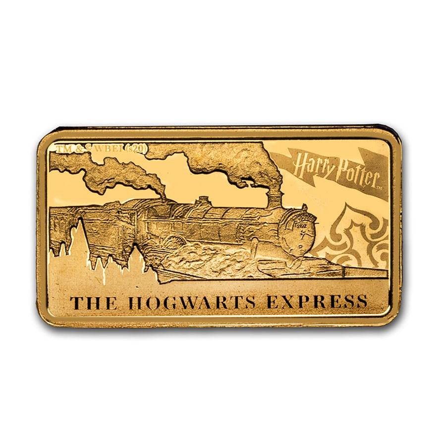 2020 Cook Islands 1/2 Gram Gold Harry Potter (Hogwarts Express)