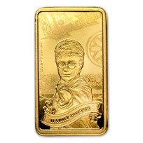2020 Cook Islands 1/2 Gram Gold Harry Potter Ingot (Harry Potter)