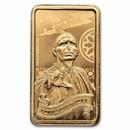 2020 Cook Islands 1/2 Gram Gold Harry Potter Ingot (Voldemort)