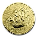 2020 Cook Islands 1 oz Gold Bounty Coin