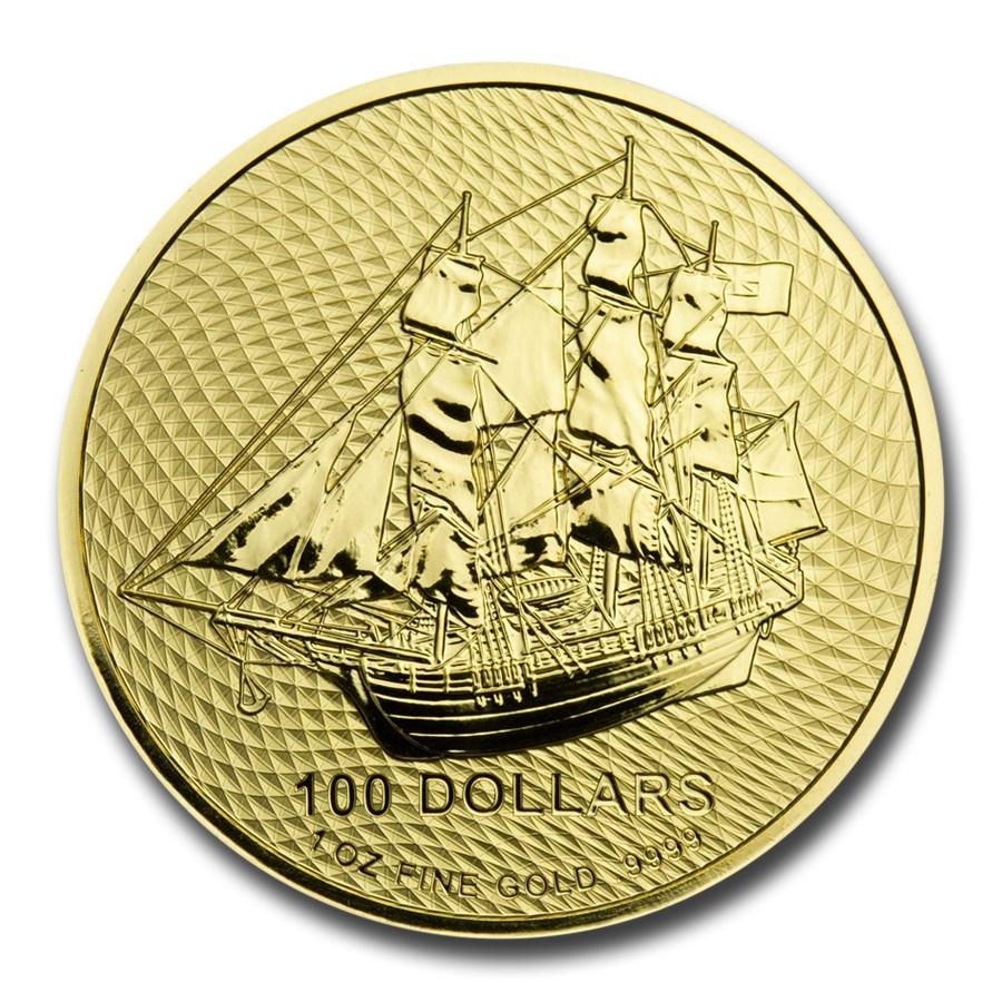 2020 Cook Islands 1 oz Gold Bounty Coin