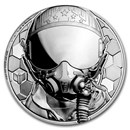 2020 Cook Islands 1 oz Platinum Fighter Pilot Proof