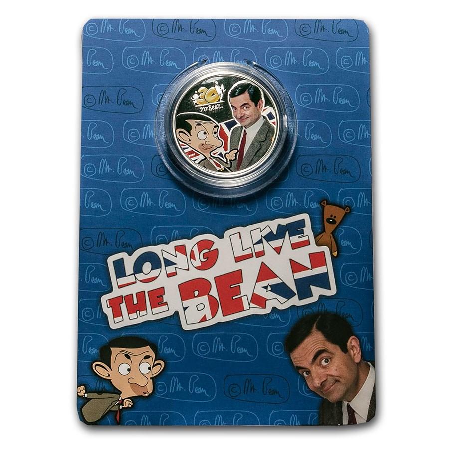2020 Cook Islands 1 oz Silver 30th Anniversary of Mr. Bean