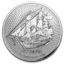 2020 Cook Islands 1 oz Silver Bounty Coin