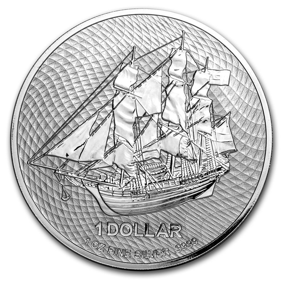 2020 Cook Islands 1 oz Silver Bounty Coin