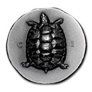 2020 Cook Islands Silver Antique Tortoise