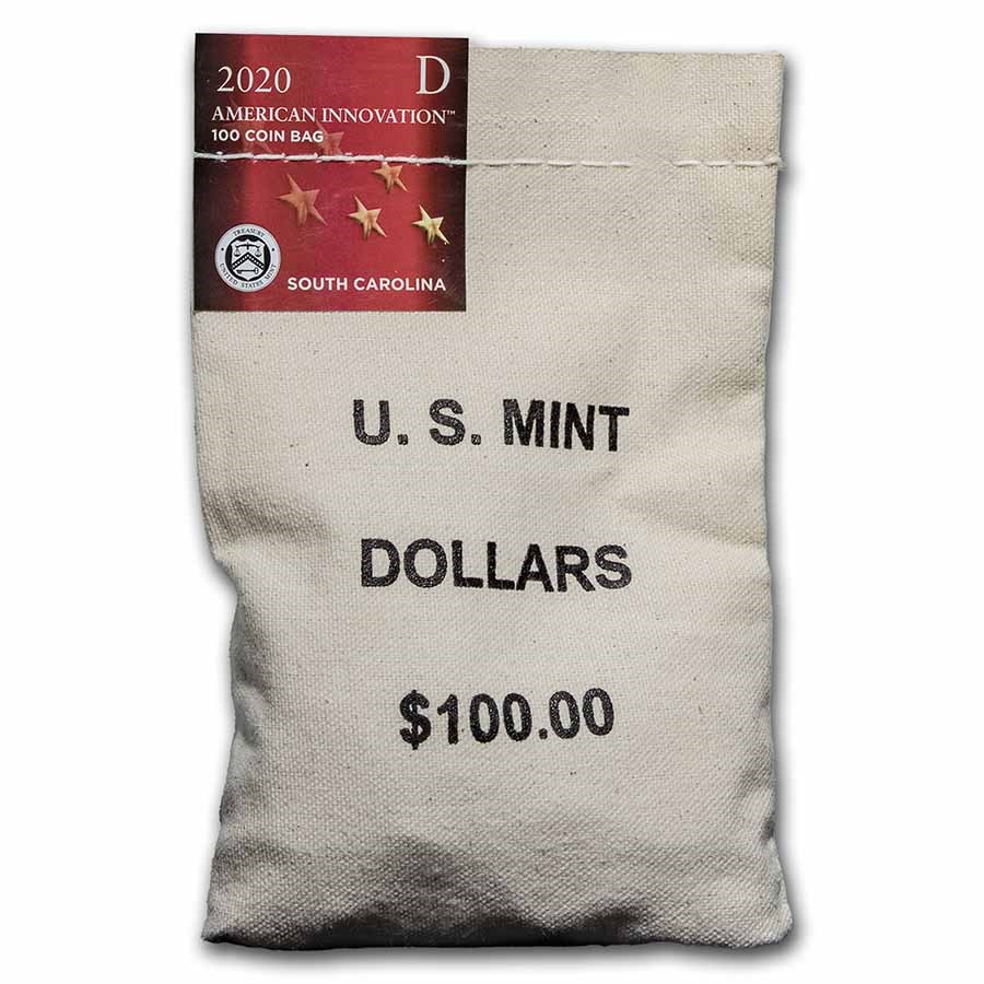 2020-D American Innovation $1 Septima Clark ($100 Bag) (SC)