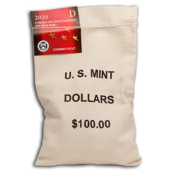 2020-D American Innovation $1 Variable Scale (100-Coin Bag) (CT)