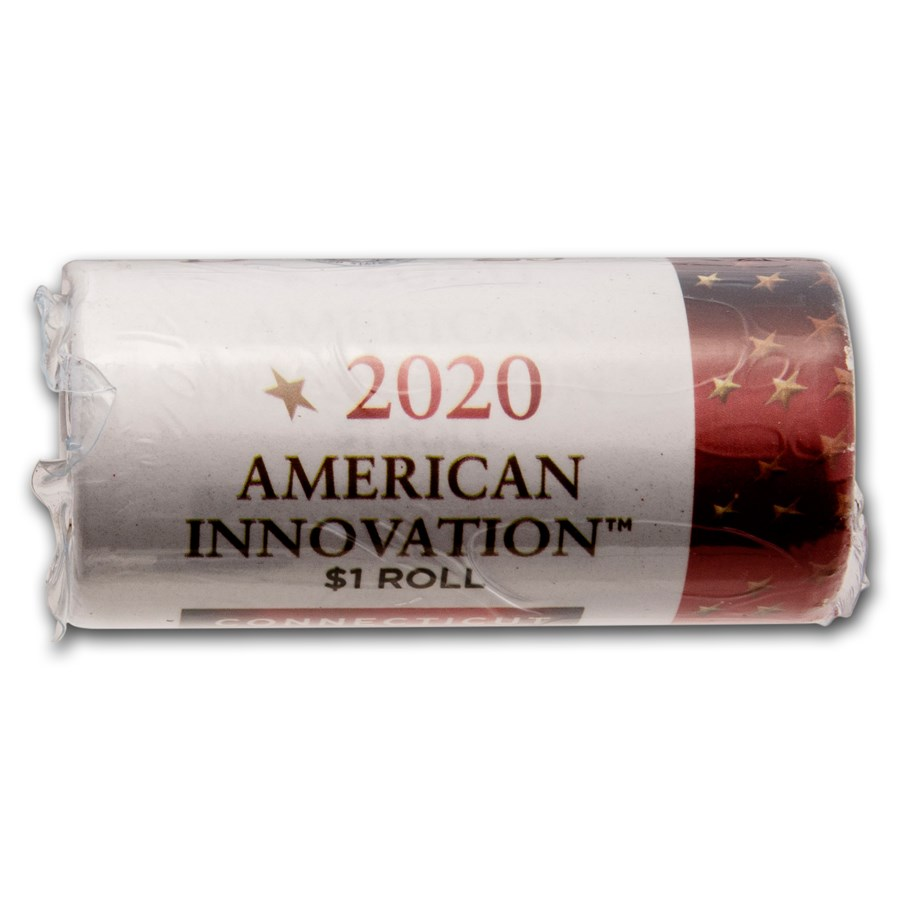 2020-D American Innovation $1 Variable Scale (25-Coin Roll) (CT)
