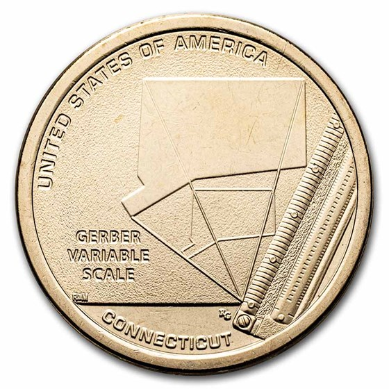 2020-D American Innovation $1 Variable Scale BU (CT)