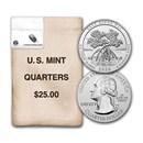 2020-D ATB Quarter Salt River Bay National Park $25 Mint Bag