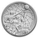 2020-D Basketball Hall of Fame 1/2 Dollar BU (Box & COA)