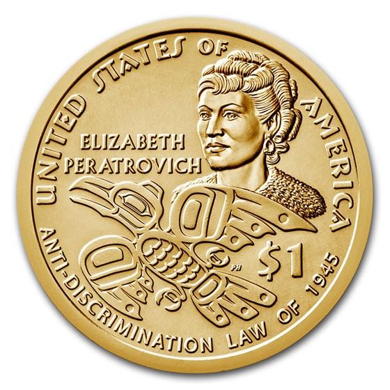 2020-D Native Amer $1 - Peratrovic Anti-Discrimination BU